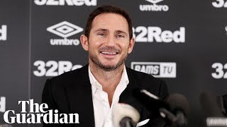 frank lampard the opportunity at derby county is a great one