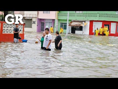 Paraliza tormenta 'Fernand' a NL | Monterrey