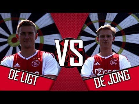 'Is dat niet de 50?!' | AJAX FOOTDARTS #5 | Matthijs de Ligt vs. Frenkie de Jong