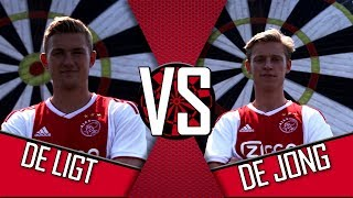 'Is dat niet de 50?!' | AJAX FOOTDARTS #5 | Matthijs de Ligt vs. Frenkie de Jong