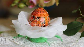 видео Пасхальная подставка под яйца