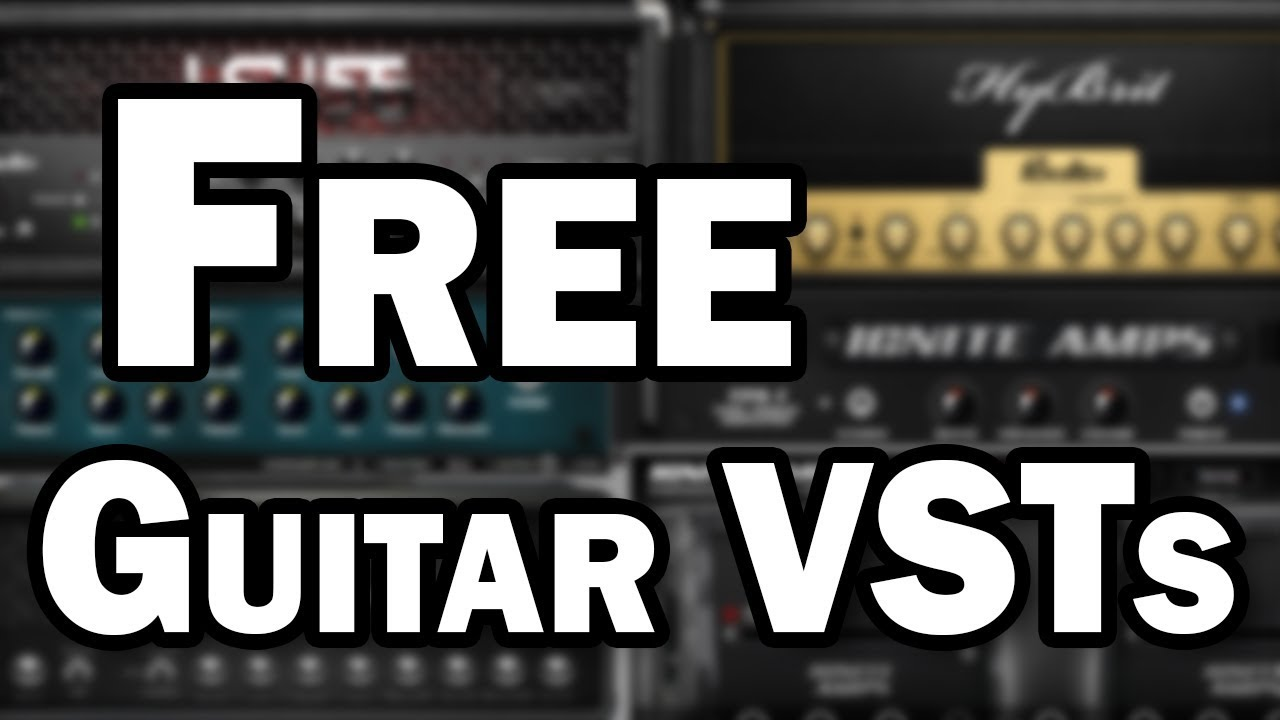 Free Guitar VST Plugins – Guitar Amp Simulation for DI Recording