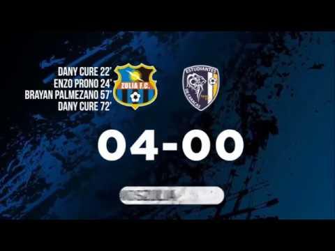 Zulia FC 4-0 Estudiantes de Caracas