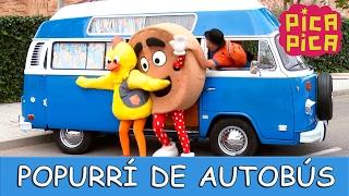 Pica Pica - Popurri de Autobus (Videoclip Oficial) - English Pitinglish