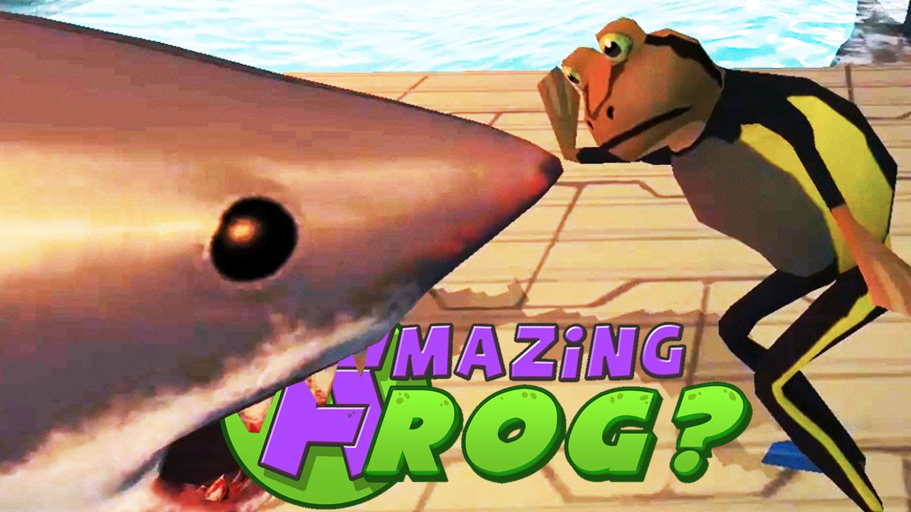 Amazing Frog Gameplay - SHARKS TAMED?! - Part 6 | Pungence