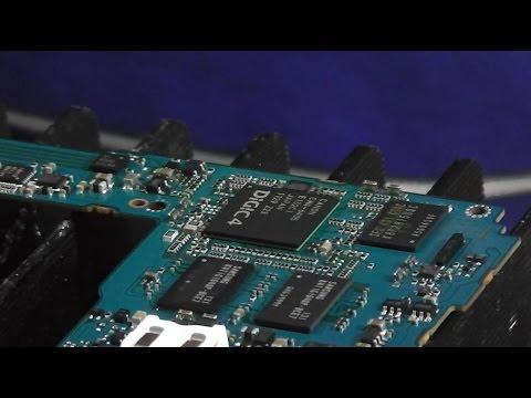Пропайка микросхемы DIGIC. Фотокамера Canon 550D. Зависает во время съёмки. Err 80 при LifeView