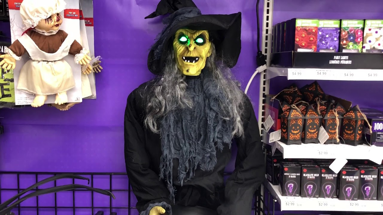 Tekky Design 2018 Haunting Harriet Witch , Party City 2018