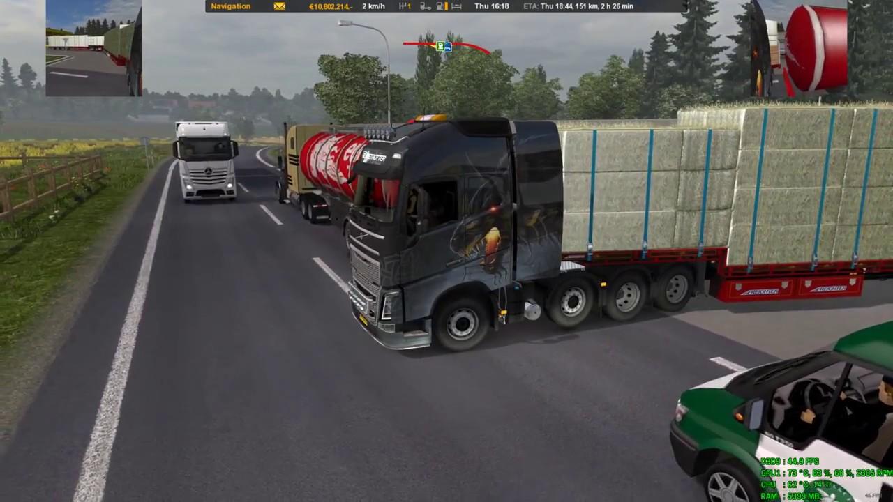 Real Traffic Density v2 3 ETS2 1 28