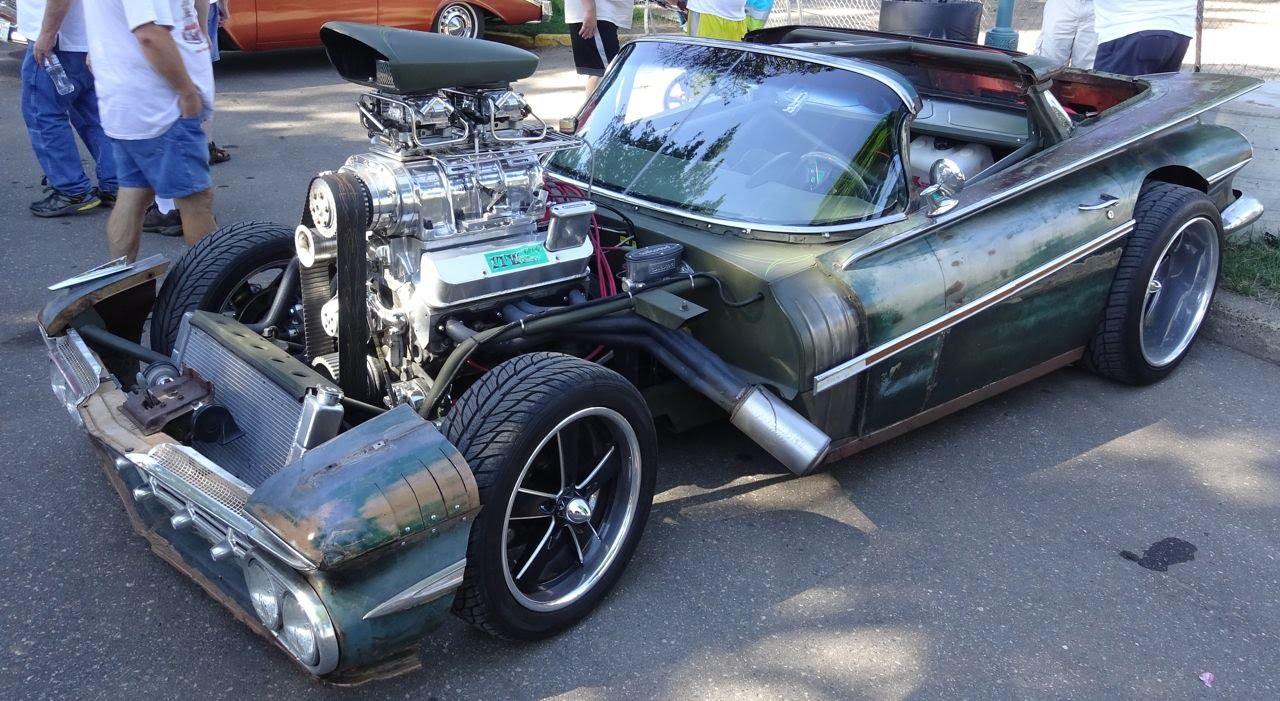 800 Hp Blown Hulk Camino Rat Rod 1959 El Camino By Itw