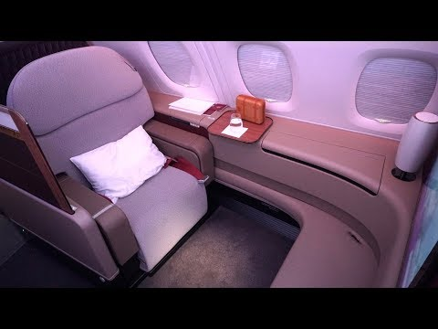 FANTASTIC Qatar Airways First Class Review - Airbus A380 - Doha to Sydney (QR908)