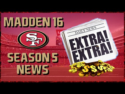 Madden 16 Franchise: San Francisco 49ers | Year 5, Week 7-10 News | Contract Negotiations