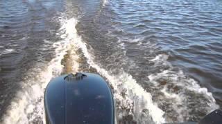 видео Тестовые испытания 5-ти сильных 4-х тактных моторов