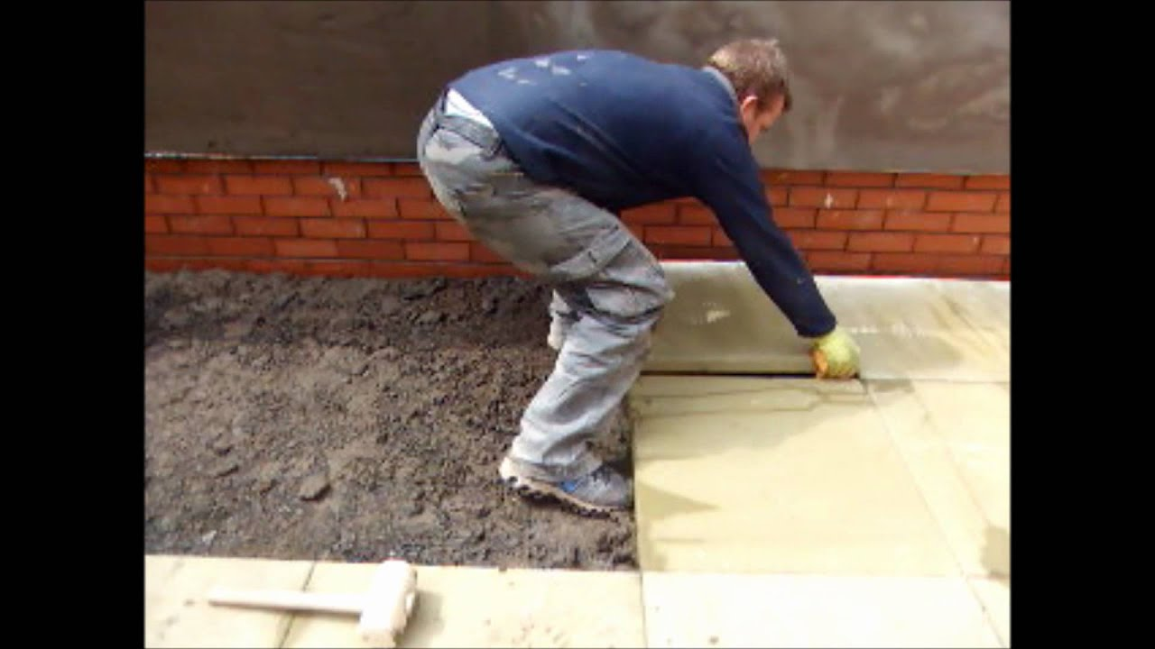 How To Lay Slabs Time Lapse Youtube