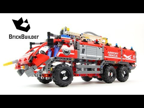 lego technic 42068 airport rescue vehicle lego speed. Black Bedroom Furniture Sets. Home Design Ideas