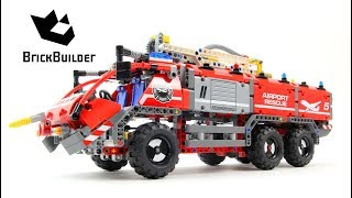 Lego Technic 42068 Airport Rescue Vehicle - Lego Speed build