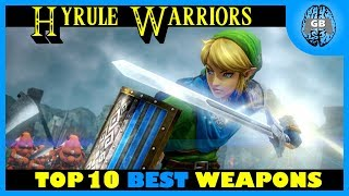 Top 10 BEST Weapons - Hyrule Warriors | GamesBrained