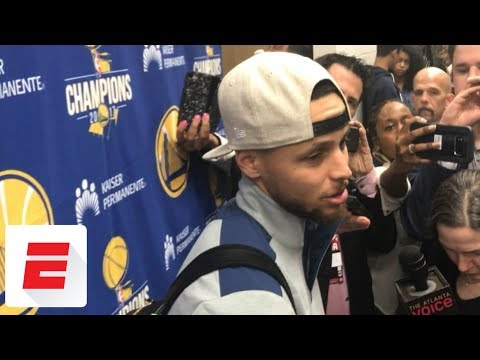 Stephen Curry on sitting out final 18 minutes with ankle injury: It's 'precautionary' | ESPN