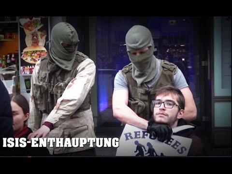 ISIS-Enthauptung mitten in WIEN | Mariahilfer Straße 21.12.2015