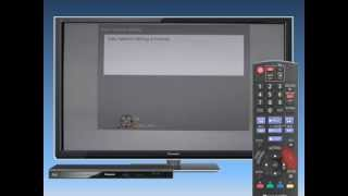 Connecting Blu-ray player BD77 to a Network with LAN cable