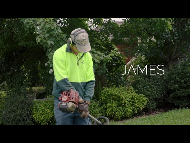 Meet James, Jim's Mowing franchise owner who runs a successful lawn care business - www.jims.net