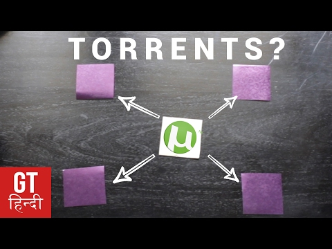 How Torrents Works: Explained in Details, Legal Issues, Etc (Hindi-हिन्दी )