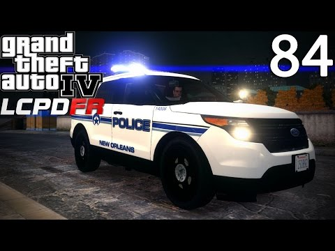 GTA IV LCPDFR 1.0 Day 84 - New Orleans Police Ford Explorer