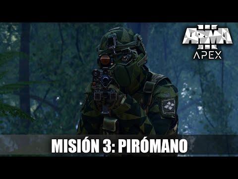 Arma 3 Apex - Campaña Cooperativa   Misión #3   Pirómano