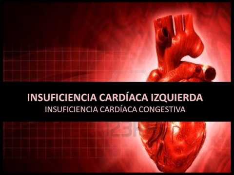 insuficiencia cardiaca izquierda definicion