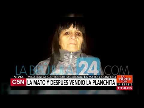 C5N - Crimen de Micaela: habla su mamá