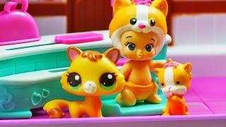 Bobas w Kawiarence | Twozies & Littlest Pet Shop | Bajki dla Dzieci