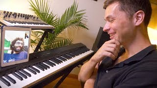 a music theory conversation with ben levin (over facetime)