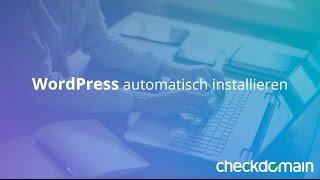 WordPress automatisch installieren