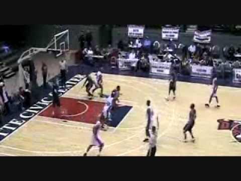 LaMarr Farr Basketball CBA Game