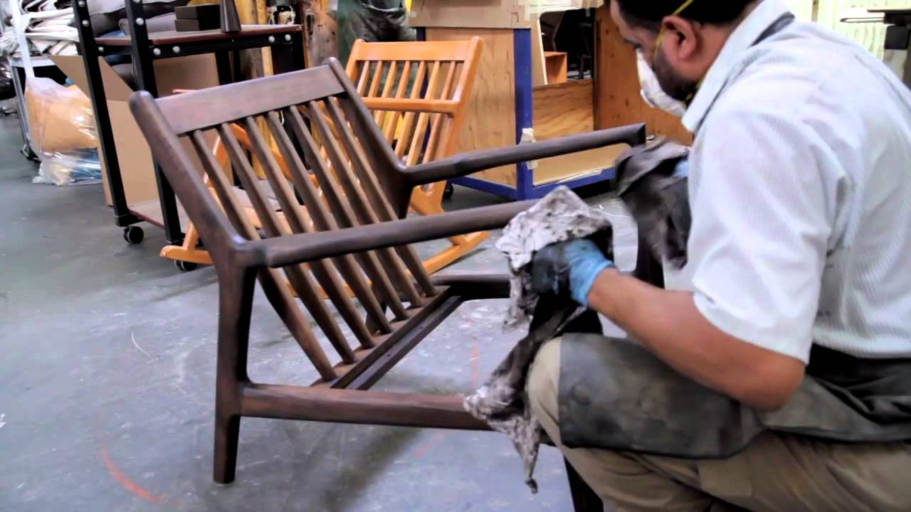 Larsen Chair By Mid Century Modern Home Youtube