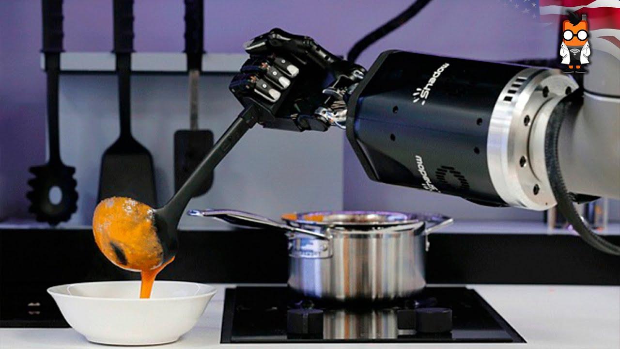 Ces De Cocina Youtube   Moley Cooking Robot Makes A Soup At Ces Asia 2015 Youtube