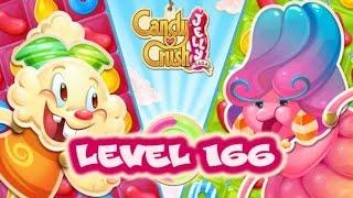 Candy Crush Jelly Saga Level 166