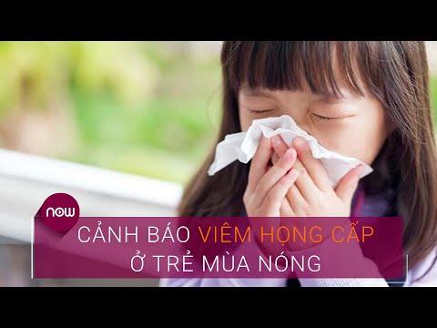 Cảnh báo viêm họng cấp ở trẻ mùa nóng | VTC Now