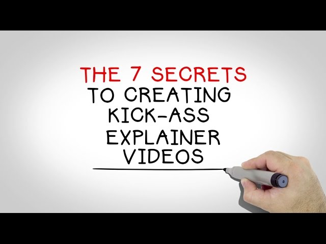 The BlueFX 7 Secrets To Creating Amazing Explainer Videos