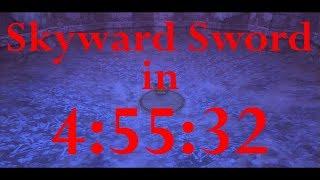 Skyward Sword Any% Speedrun in 4:55:32