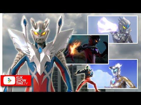 Macam-macam Bentuk dari Ultraman Zero