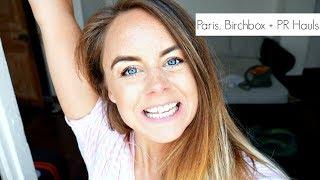Paris, Birchbox + PR Haul