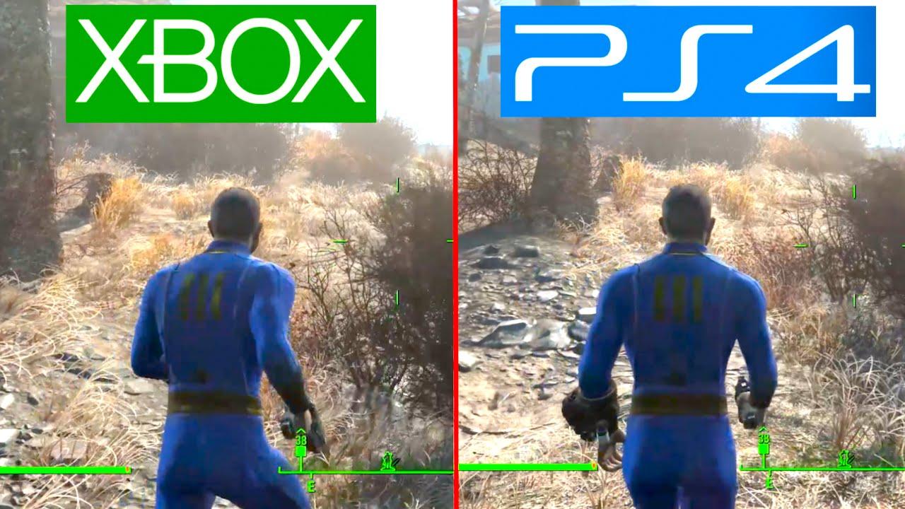 Fallout 4 - PS4 vs XBOX ONE Graphics Comparison! (Fallout ...