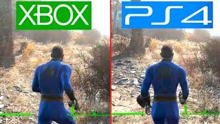 Fallout 4 - PS4 vs XBOX ONE Graphics Comparison! (Fallout 4 Comparison)