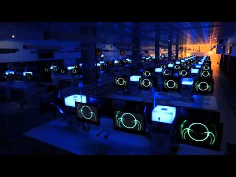Symphony of screens: The secret life of the UTS Super Lab