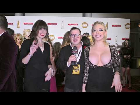Jordan Kennedy and Kagney Linn Karter at the XBiz Awards