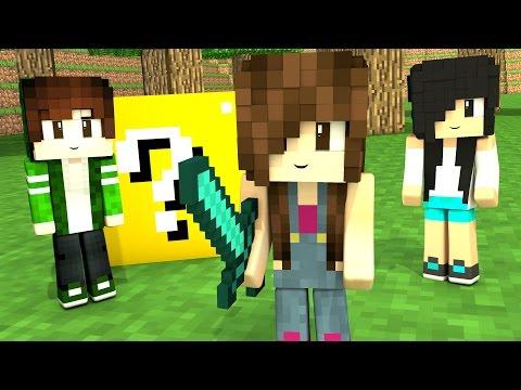 Minecraft Lucky Block - SOMOS PEQUENINOS #FelizDiaDasCrianças - Видео из Майнкрафт (Minecraft)