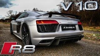 Audi R8 V10 Plus LOUD! Exhaust Sound Startup & Revs