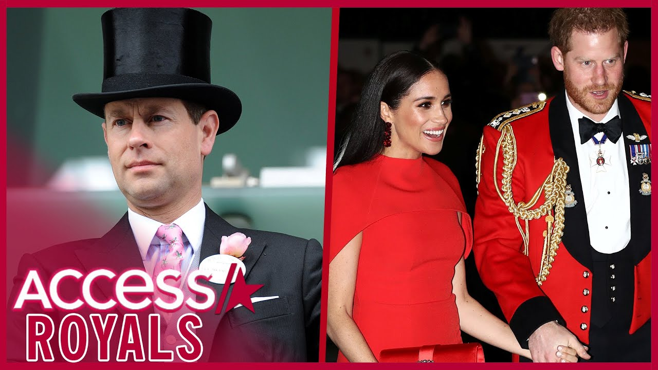 Prince Edward Weighs In On Meghan & Harry's Royal Rift
