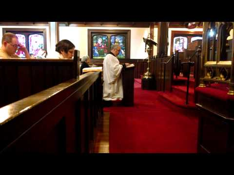 Episcopal The Great Litany - 2014 Church of the Transfiguration Cranston, RI
