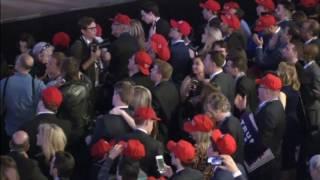 Excitement mounts at Trump headquarters